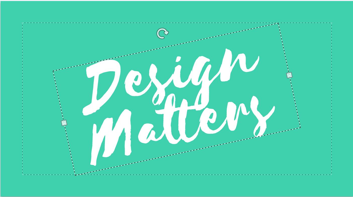 Demonstração editor de design